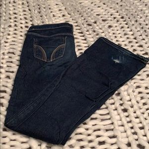 Hollister Cali Flare Jeans Size 5 Long Stretch